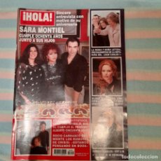 Coleccionismo de Revista Hola: REVISTA HOLA NUMERO 3220 JUNIOR, TRAS LA MUERTE DE ROCÍO DURCAL. Lote 294974568