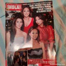Coleccionismo de Revista Hola: REVISTA HOLA NUMERO 3309 ISABEL PREYSLER Y SUS HIJAS. Lote 294975253