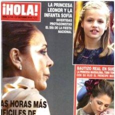 Coleccionismo de Revista Hola: REVISTA HOLA: ISABEL PANTOJA / MARTA SANCHEZ / JIM CARREY / BRAD FALCHUK / BLANCA SUAREZ / PALTROW. Lote 295351803