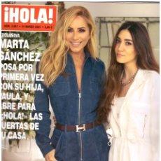 Coleccionismo de Revista Hola: REVISTA HOLA: MARTA SANCHEZ / MARIA CASADO / LAURA PAUSINI / OPRAH WINFREY / ANYA TAYLOR JOY. Lote 295352793