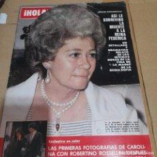 Colecionismo da Revista Hola: REVISTA HOLA NUMERO 1904 REINA FEDERICA. Lote 295494608