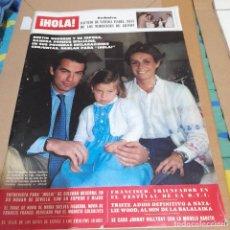 Colecionismo da Revista Hola: REVISTA HOLA NUMERO 1947 BERTÍN OSBORNE. Lote 295496048