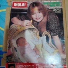 Coleccionismo de Revista Hola: REVISTA HOLA NUMERO 1861 SUSAN RICHARDSON. Lote 295517048
