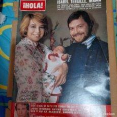 Coleccionismo de Revista Hola: REVISTA HOLA 1863 ISABEL TENAILLE. Lote 295519938