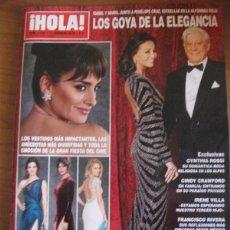 Coleccionismo de Revista Hola: REVISTA HOLA: ISABEL PREYSLER / MARIO VARGAS LLOSA / PENELOPE CRUZ / CLARA LAGO / MARTA SANCHEZ. Lote 295520223