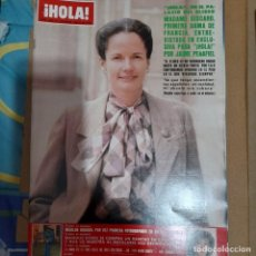 Coleccionismo de Revista Hola: REVISTA HOLA NUMERO 1893 MADAME GISCARD. Lote 295526153