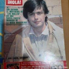 Coleccionismo de Revista Hola: REVISTA HOLA NUMERO 1895 IAN SAYNOR. Lote 295526533