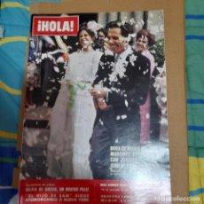 Colecionismo da Revista Hola: REVISTA HOLA NUMERO 1721 MARIA DEL MAR MARTINEZ BORDIU. Lote 295693188