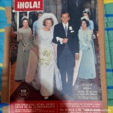 Colecionismo da Revista Hola: REVISTA HOLA NUMERO 1125 BEATRIZ DE HOLANDA. Lote 295713028
