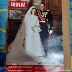 Colecionismo da Revista Hola: REVISTA HOLA NUMERO 1254 HARALD DE NORUEGA. Lote 295714433