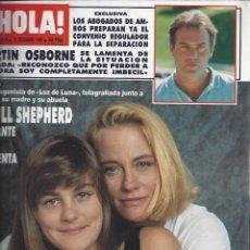 Coleccionismo de Revista Hola: REVISTA HOLA NUMERO 2418 DEL 13-12-1990. SUMARIO EN INTERIOR. Lote 297282668