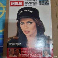 Coleccionismo de Revista Hola: REVISTA HOLA NUMERO 1813 BARBARA BACH. Lote 297297288