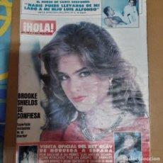Coleccionismo de Revista Hola: REVISTA HOLA NUMERO 2068 BROOKE SHIELDS. Lote 297342713