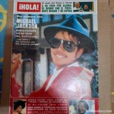 Coleccionismo de Revista Hola: REVISTA HOLA NUMERO 2073 MICHAEL JACKSON. Lote 297343268