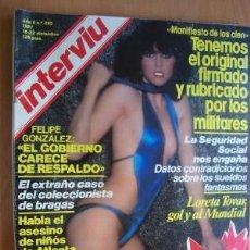 Coleccionismo de Revista Interviú: INTERVIU Nº 292 - 16-22 DICIEMBRE1981 - CON PÁGINAS ESPECIALES TODO SOBRE 1981. Lote 17681706