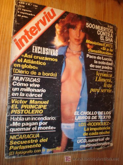 REVISTA - INTERVIU - Nº 120- 1978. EN PORTADA: VERONICA LLINERA. (Coleccionismo - Revistas y Periódicos Modernos (a partir de 1.940) - Revista Interviú)