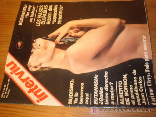 REVISTA - INTERVIU - Nº 39 AÑO 1977 EN PORTADA: CORINNE CLERV : TODO PARA MOSTRAR (Coleccionismo - Revistas y Periódicos Modernos (a partir de 1.940) - Revista Interviú)