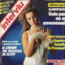 Coleccionismo de Revista Interviú: REVISTA INTERVIU,AÑO 1986,Nº 514. Lote 25767781