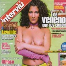 Coleccionismo de Revista Interviú: INTERVIU Nº 1468. JUDITH DE GRAN HERMANO. ESTHER BUENO. JUGADORES DEL LEVANTE DESNUDOS. PHISING.. Lote 27081856