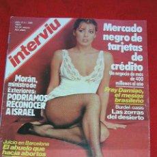 Coleccionismo de Revista Interviú: INTERVIU Nº 349 - 19 - 25 ENERO 1983, LA OTRA CARLOLINA Y OTROS ARTICULOS MÁS. Lote 27322942