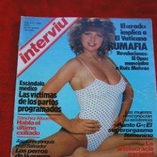 Coleccionismo de Revista Interviú: INTERVIU Nº 358 - 23 - 29 MARZO 1983, RAQUEL EVANS Y OTROS ARTICULOS MÁS. Lote 21278560