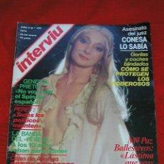 Coleccionismo de Revista Interviú: REVISTA INTERVIU Nº 140 18 - 24 ENERO DE 1979 Mª. PAZ BALLESTEROS Y OTROS ARTICULOS MÁS. Lote 25740151