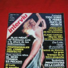 Coleccionismo de Revista Interviú: REVISTA INTERVIU Nº 115 27 JULIO 2 AGOSTO DE 1979 EVA LEON, BLAS PIÑAR Y OTROS ARTICULOS MÁS. Lote 11842949