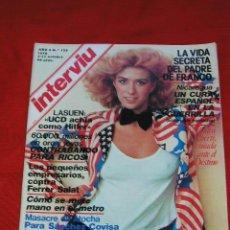 Coleccionismo de Revista Interviú: REVISTA INTERVIU AÑO 3 Nº 125 5-11 OCTUBRE DE 1978 ROSALI, SANDRA ALBERTI, ARTICULO SANCHEZ COVISA. Lote 26922502