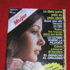 Coleccionismo de Revista Interviú: INTERVIU MUJER SUPLEMENTO Nº 2 AÑO 1976 DEDICADO A LA MUJER MUCHOS ARTICULOS.. Lote 6847039