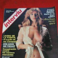 Coleccionismo de Revista Interviú: INTERVIÚ - AÑO 2, Nº 45 - SEMANA DEL 24-30 MARZO 1977 ALICIA TOMAS Y OTROS ARTICULOS MÁS. Lote 26483034