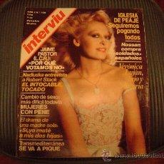 Coleccionismo de Revista Interviú: REVISTA INTERVIU. Lote 20213493