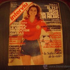 Coleccionismo de Revista Interviú: REVISTA INTERVIU. Lote 21600441