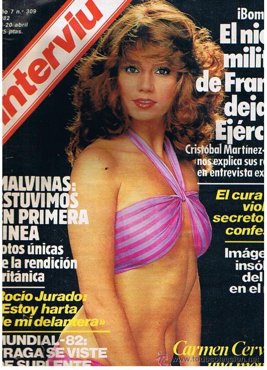 Interviu Nº 309año 82 Desnudo De Carmen Cervera