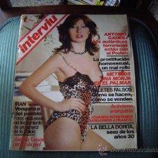Coleccionismo de Revista Interviú: REVISTA INTERVIU.. Lote 24624183