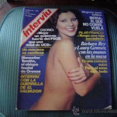 Coleccionismo de Revista Interviú: REVISTA INTERVIU.. Lote 24624188