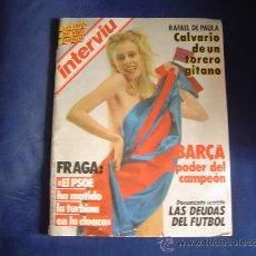 Coleccionismo de Revista Interviú: REVISTA INTERVIU. Lote 25152106