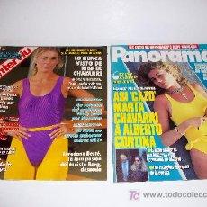Coleccionismo de Revista Interviú: LOTE INTERVIU Nº 666 Y PANORAMA, Nº 90. Lote 27418081