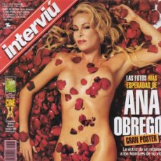 Colecionismo da Revista Interviú: INTERVIU Nº 1308. ESPECIAL ANA OBREGON. INCLUYE GRAN POSTER DESPLEGABLE. DISCO POLÉMICO DE TRIANA.. Lote 27440110