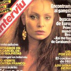 Coleccionismo de Revista Interviú: REVISTA INTERVIU Nº 366 - 1983 - NADIUSKA DESNUDA - EL COCINERO DE HITLER - LOS GITANOS DE RUSIA. Lote 23646073
