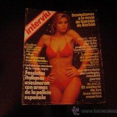 Coleccionismo de Revista Interviú: REVISTA INTERVIU.. Lote 11822415