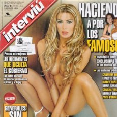 Coleccionismo de Revista Interviú: INTERVIU Nº 1361. LAURA PANAM. PELOTAZO EN MELILLA. MENDILUCE. DOMINIQUE LAPIERRE.FAMOSOS Y HACIENDA. Lote 26917051
