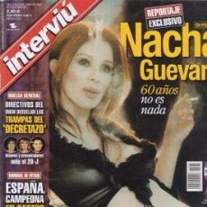 Coleccionismo de Revista Interviú: INTERVIU Nº 1364. NACHA GUEVARA. YAIZA CASTRO. PABLO SEBASTIAN. EL DECRETAZO. YENIN. . Lote 26917052