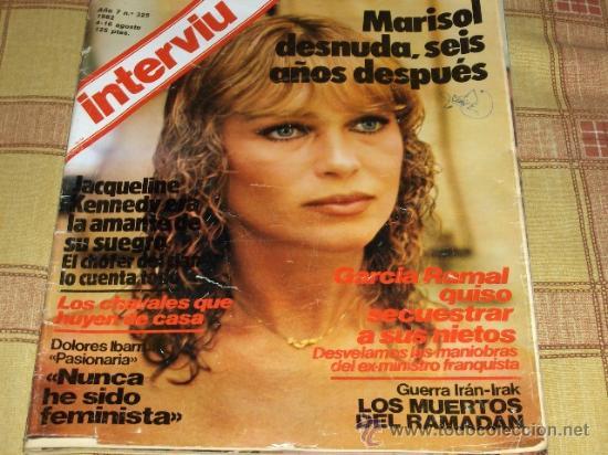 Interviu Nº 325 Con Marisol Desnuda 1982 125 Pts