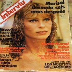 Coleccionismo de Revista Interviú: INTERVIU Nº 325 CON MARISOL DESNUDA. 1982. 125 PTS.. Lote 13124660