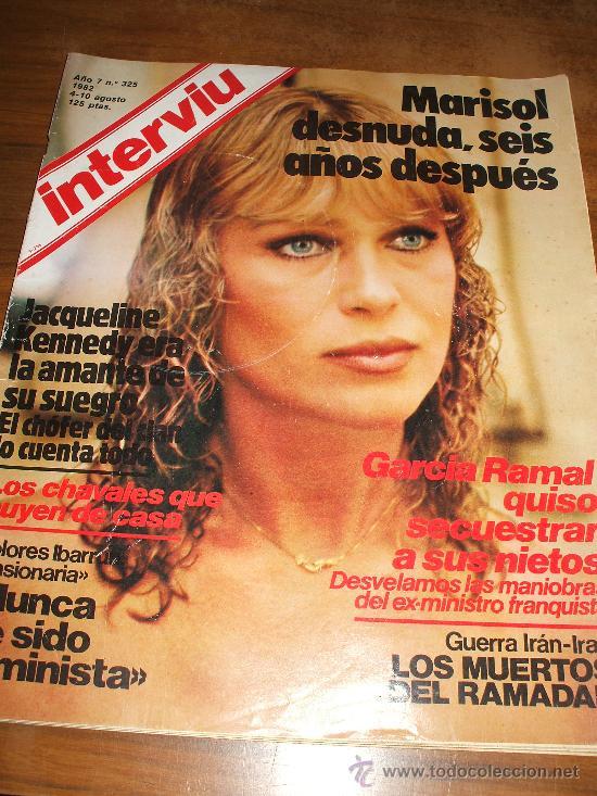 Revista Interviu Con Desnudo De Marisol