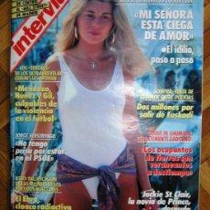 Coleccionismo de Revista Interviú: INTERVIU: AÑO 1989 Nº 668, JACKIE ST.CLAIR, LA NOVIA DE PRINCE,DESUNDA,CRISTA, VERSO Y PROSA. Lote 24300451