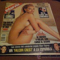 Coleccionismo de Revista Interviú: REVISTA INTERVIU PORTADA ADRIANA SKLENARIKOVA LEQUIO MAR FLORES. Lote 26624268