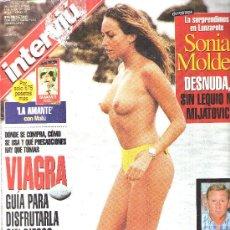 Coleccionismo de Revista Interviú - INTERVIU - AÑO 1998 N 1157 - SONIA MOLDES - 27607762