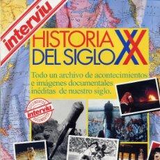 Coleccionismo de Revista Interviú: HISTORIA DEL SIGLO XX INTERVIÚ REVISTA. Lote 26764436