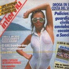 Coleccionismo de Revista Interviú: INTERVIU : AÑO 1987 N 586. Lote 17936760